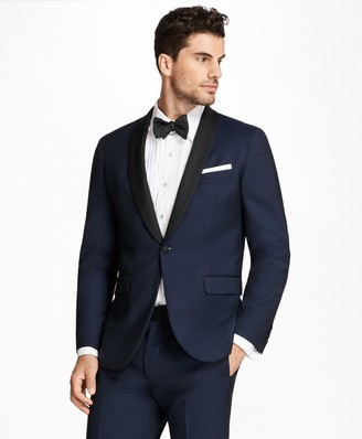 Brooks Brothers Milano Fit Shawl Collar Navy Tuxedo