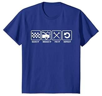Racing Mechanic T-Shirt Race It Break It Fix It Car Shirt