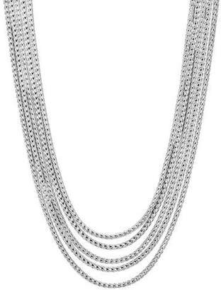 John Hardy Classic Chain Five-Row Necklace, 16-18""