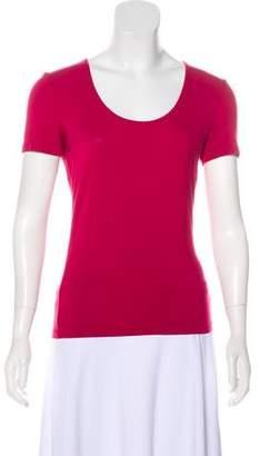 Armani Collezioni Scoop Neck T-Shirt.