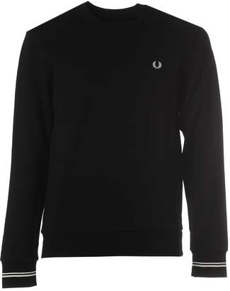 Fred Perry Cotton Crew Neck