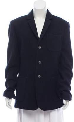AllSaints Wool Long Sleeve Coat