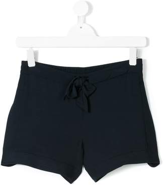 Chloé Kids Teen bow front shorts