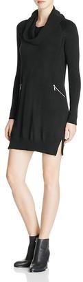 Design History Cowl Neck Sweater Dress $124 thestylecure.com