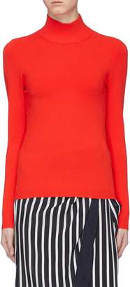 Diane von Furstenberg 'Mel' cutout back mock neck sweater
