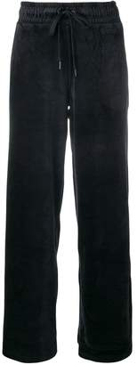 DKNY wide track trousers