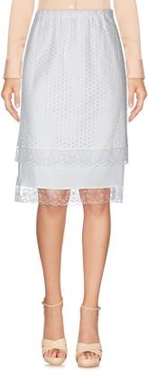 Rose' A Pois Knee length skirts - Item 35394964VX
