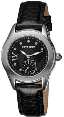 Pierre Cardin Women's Quartz Watch L'eternite PC104272F01 with Leather Strap