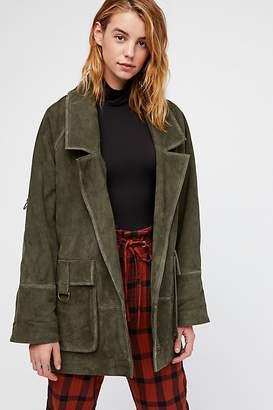 Felicity Suede Jacket
