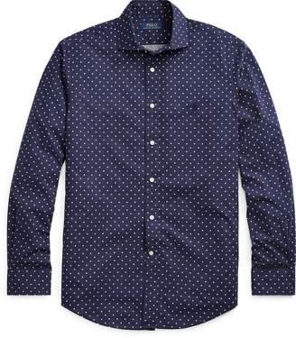 Ralph Lauren Classic Fit Polka-Dot Shirt