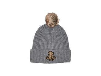 Lauren Ralph Lauren Rib Logo Patch Hat