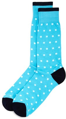 The Men's Store at Bloomingdale's Dots Socks - 100% Exclusive $12 thestylecure.com