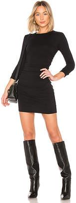 Enza Costa Cashmere Ruched Mini Dress