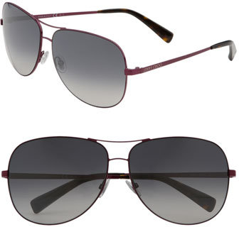 Jimmy Choo 'Didi' Metal Aviator Sunglasses