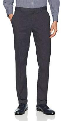 Perry Ellis Men's Slim Fit Stretch Check Pant