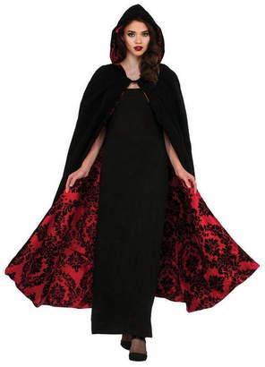 BuySeasons Women Deluxe Velvet And Flocked Satin Adult Costume