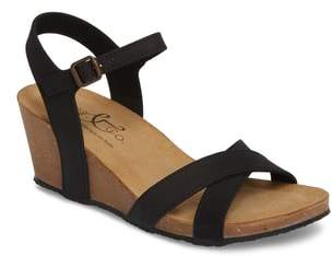 Bos. & Co. Lucca Wedge Sandal