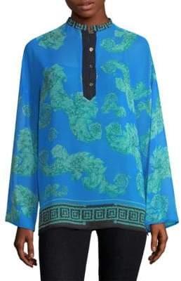 Versace Arabesque-Print Tunic