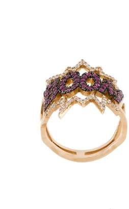 Diane Kordas BOOM! diamond ring