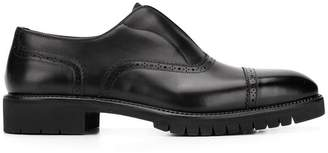 Salvatore Ferragamo laceless oxford shoes