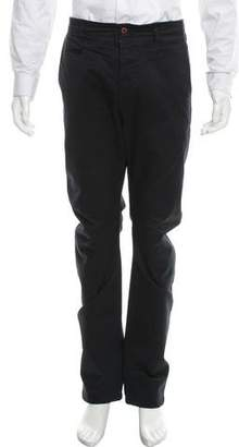 Wings + Horns Cropped Flat Front Pants