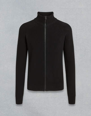 Belstaff Parkgate Zip-Through Cardigan