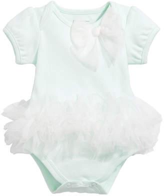First Impressions Baby Girls Floral-Print Tutu Bodysuit