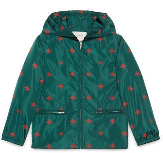 Children's bees stars nylon jacket $770 thestylecure.com