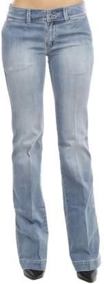Armani Jeans Pants Denim Used Stretch