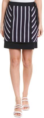BCBGMAXAZRIA Striped Mini Skirt