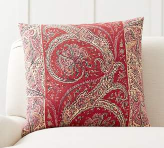 Pottery Barn Sweeney Paisley Print Pillow Cover