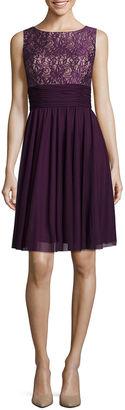 JESSICA HOWARD La Nouvelle Renaissance Lace Top Fit-and-Flare Dress $66.99 thestylecure.com