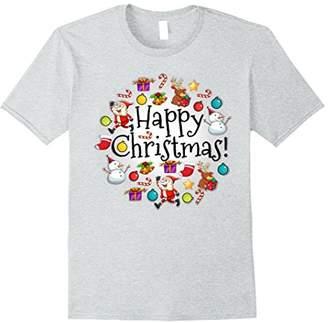 Icon Eyewear Happy Christmas Emojicon Holiday Collection T-Shirt