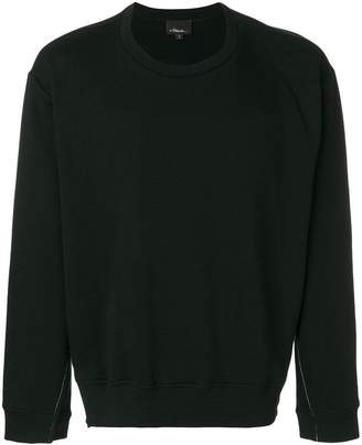 3.1 Phillip Lim Long-sleeve re-constructed sweatshirt