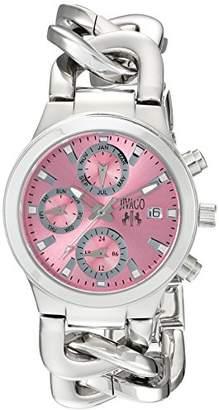 Jivago Women's JV1245 Analog Display Swiss Quartz Silver Watch