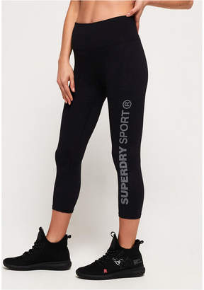 Superdry Sd Core Sport Essential Capri Leggings