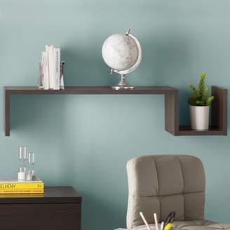 Zipcode Design Erica S-Shaped Floating Shelf