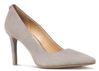 MICHAEL Michael Kors Dorothy Flex Suede Pointed Toe High-Heel Pumps