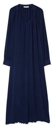 MANGO Long textured dress
