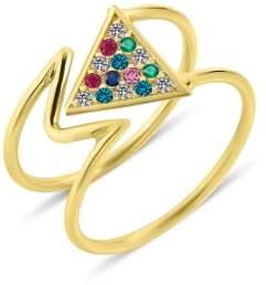 GFG Jewellery Mara Rainbow Ring