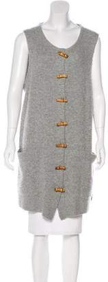 Acne Studios Wool & Cashmere Sleeveless Cardigan