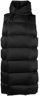 Rick Owens Liner puffer vest coat