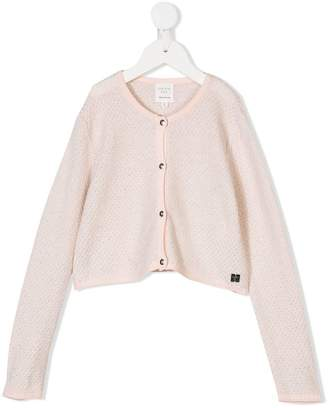 Carrèment Beau knitted round neck cardigan