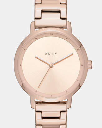 DKNY The Modernist Rose Gold -Tone Analogue Watch