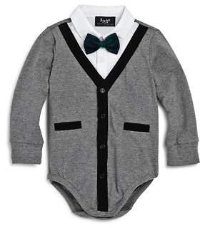 Bardot Junior Boys' Cardigan Bow-Tie Bodysuit - Baby