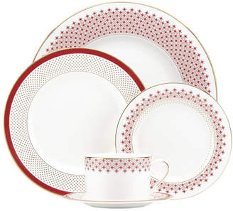 Kate Spade Jemma Street Bone China 5 Piece Place Setting, Service for 1