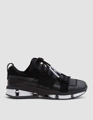 adidas Twinstrike ADV Stretch Leather Shoe in Core Black