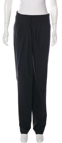 Fendi Wool Straight-Leg Pants