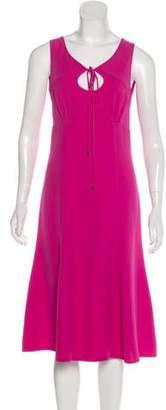Louis Vuitton Sleeveless Midi Dress