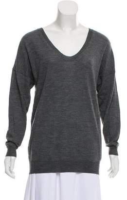 3.1 Phillip Lim Merino Wool Button-Accented Sweater